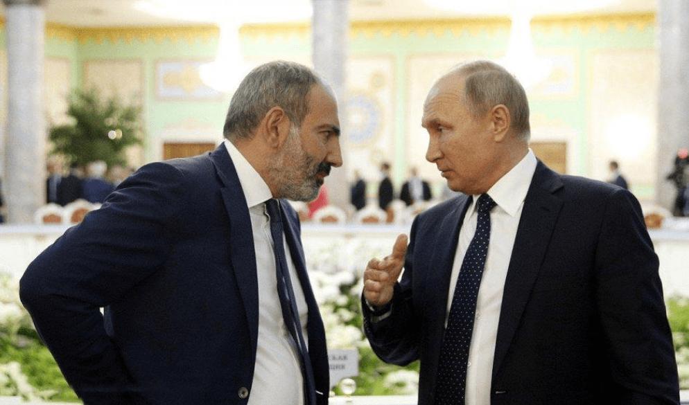 被下属误导?亚美尼亚总理打电话向普京致歉:俄制武器是最好的