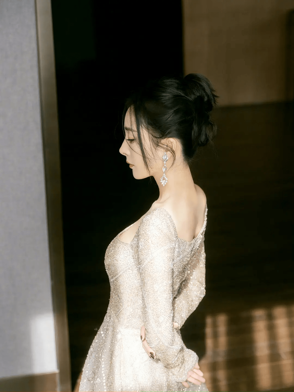 杨幂穿11年前旧礼服走红毯,连续借不到高定,时尚资源出问题?