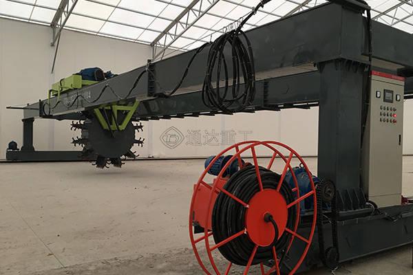 翻堆机在堆肥中的五大作用