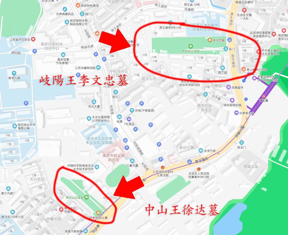 岐阳王墓:明孝陵最秘密部分,差错外开放,整