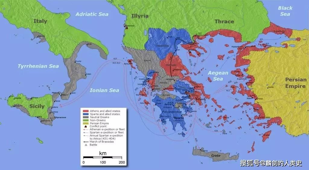 【古希腊记载】锡拉库萨(2):西西里之战1