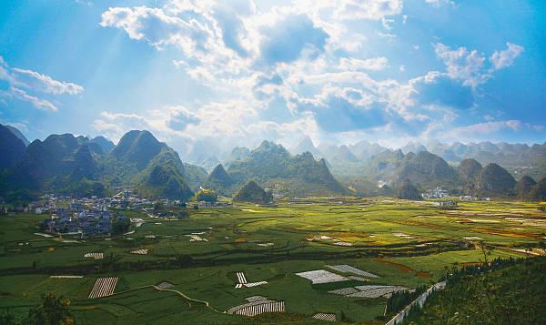 """貴州今年7個村獲""""全國生態文化村""""稱號"""