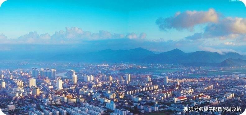 2020年台州各区GDP排行榜