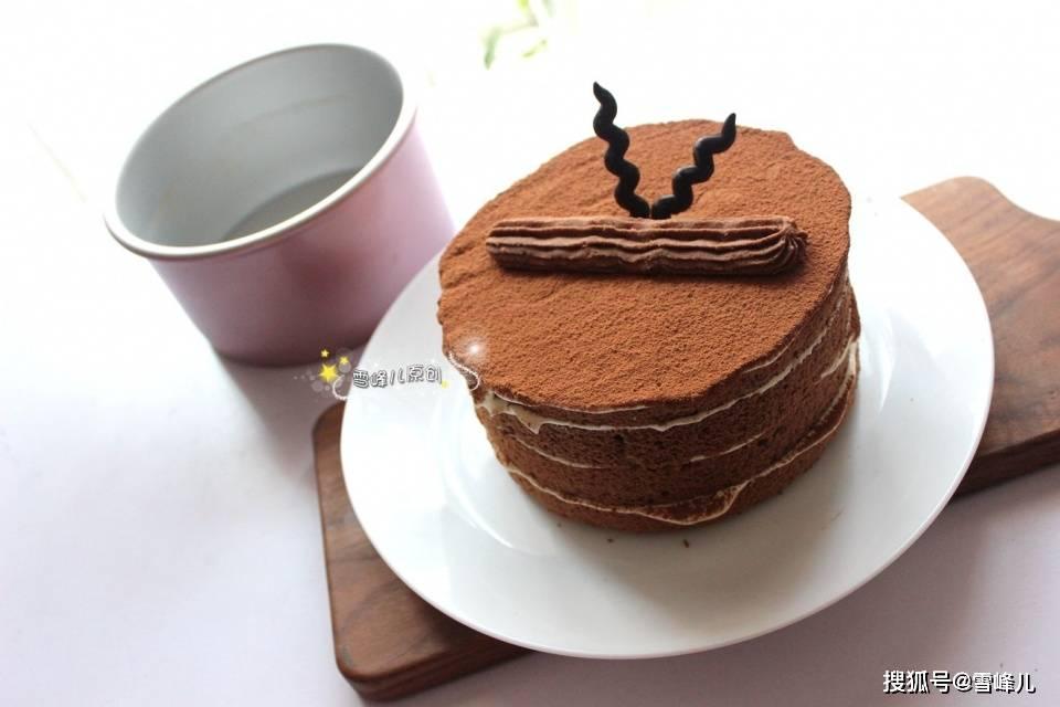 这蛋糕好看好吃还好做,晒到朋侪圈火了,朋侪