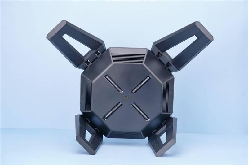 小米AX9000路由器评测:三频12天线 USB再无遗憾 999元的照片 - 4