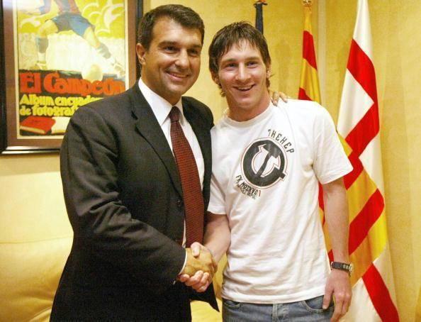 菲戈:如果德佩在下赛季来到巴萨,拉波尔塔挽留梅西的意义不大