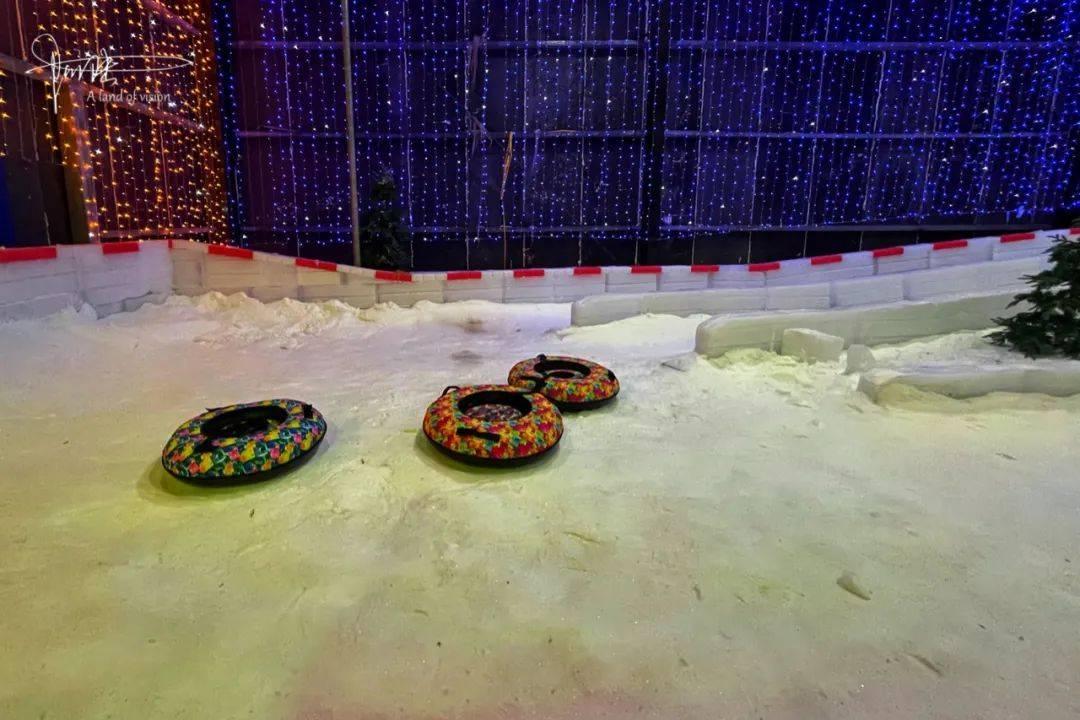 原创             云雾山有个冰雪乐园,一年四季都能体验冬天的温度和乐趣
