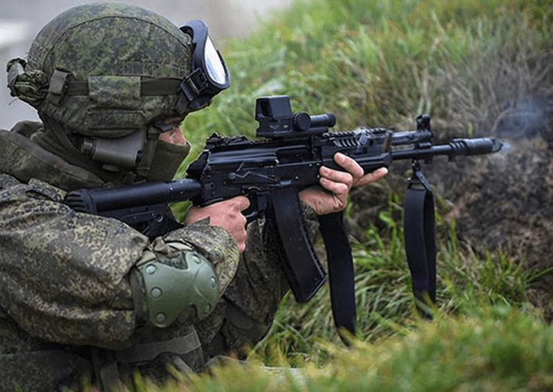 战争爆发的前兆?为应对乌克兰,俄军前线部队加速换装新式步枪