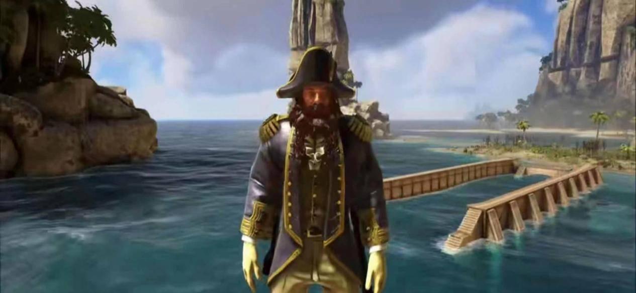Steam沙盒游戏推荐,《ATLAS》主播成为霸气的海盗船长