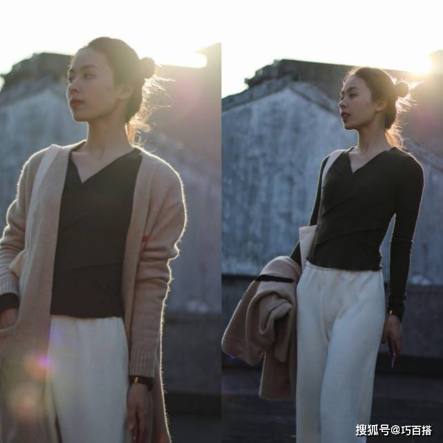 優雅女人必須要有白色褲子,學著穿,美感可以翻倍
