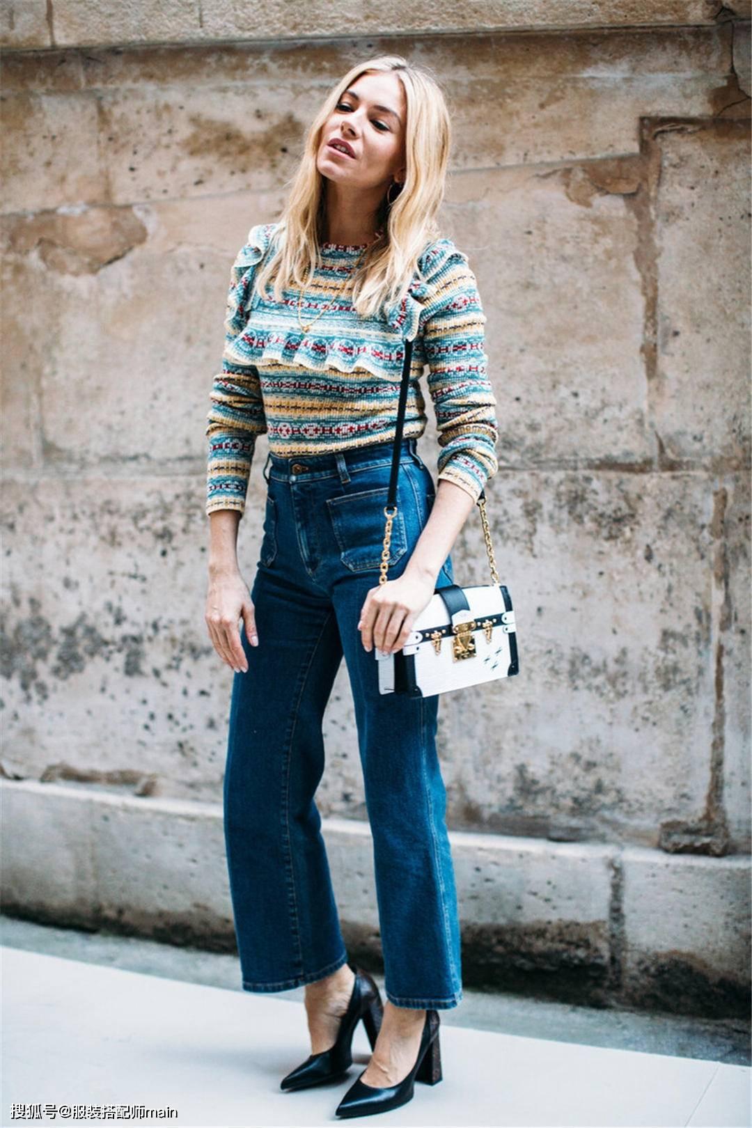 原创             春季喇叭裤怎么穿?3个搭配思路,轻松玩转多种风格