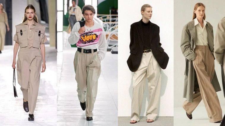 四十岁女人衣柜基础款必备:卡其裤,既帅气又有女人味,还能减龄