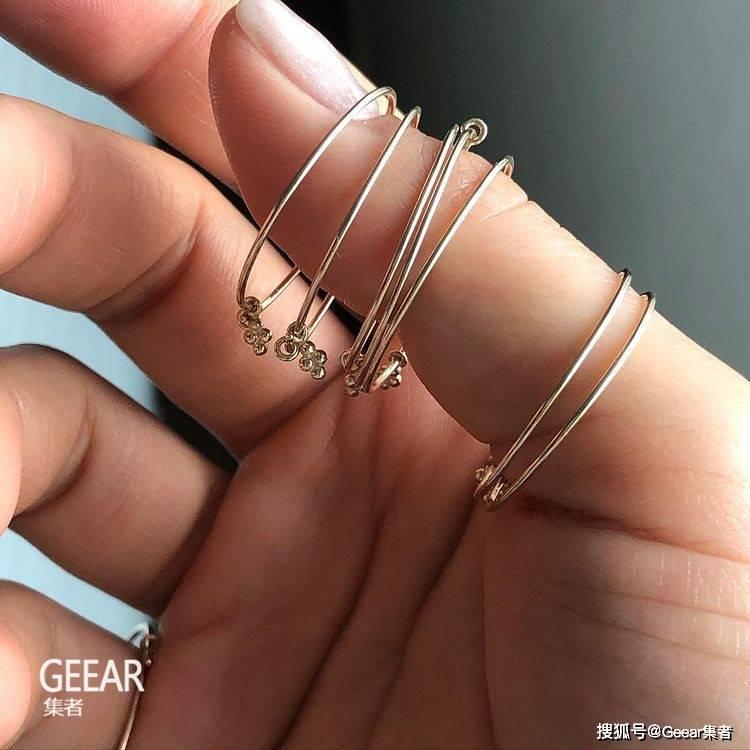 原创             Rosé手上的饰品就来自这个韩国小众品牌!