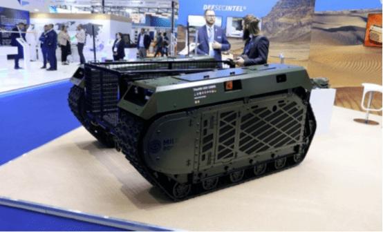 一无人车辆X型地面无人战车2021年4月23日 无人车 第1张