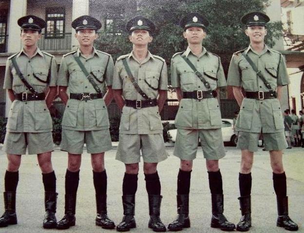 中国香港警察的警衔,分为10多个等级,到底有多大