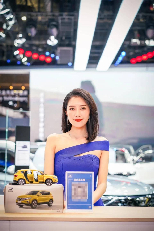 图赏:上海车展上的车模小姐姐们(图29)