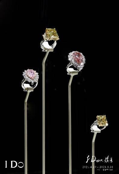 """刘嘉玲马思纯打卡""""我愿意I Do""""艺术展,观赏88克拉祖母绿+51克拉钻石CP珠宝"""