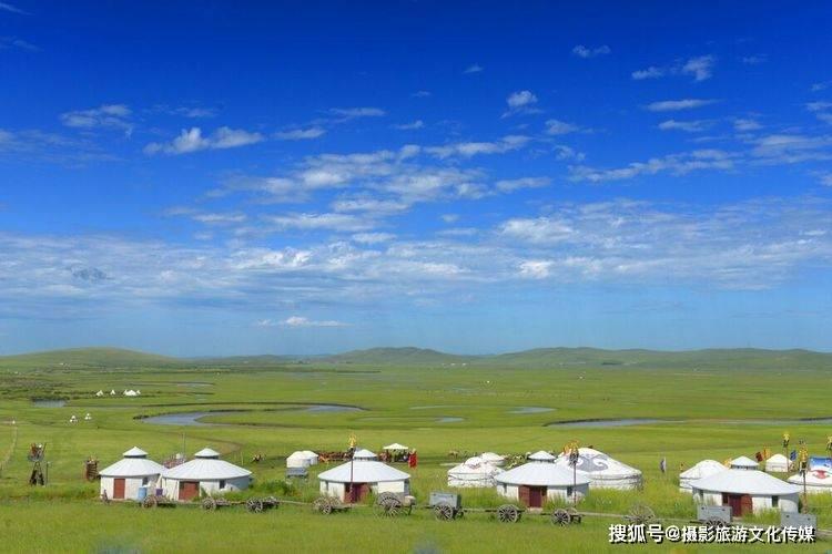 魅力呼伦贝尔大草原、民俗那达慕、湿地丹顶鹤摄影采风活动