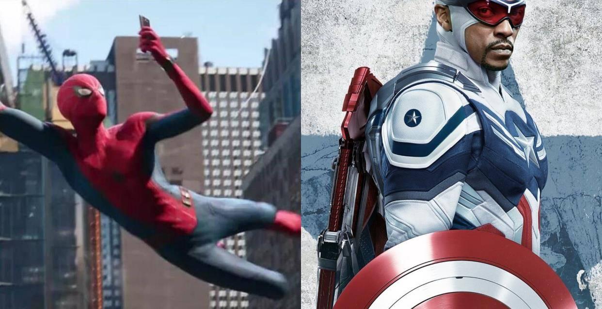 漫威宇宙的无限可能,蜘蛛侠差点出现在了《猎鹰与冬日士兵》里_角色