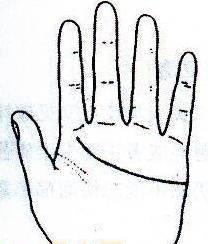 """秘传手相古相法精解:手相""""感情线""""、详细图文解析、值得收藏!  第8张"""