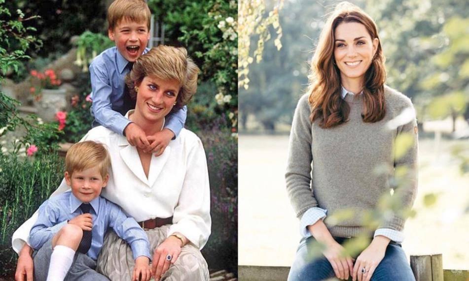 宝石在英皇室的传承!凯特手上的戴妃婚戒原是哈利收藏的母亲遗物