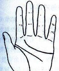 """秘传手相古相法精解:手相""""感情线""""、详细图文解析、值得收藏!  第5张"""