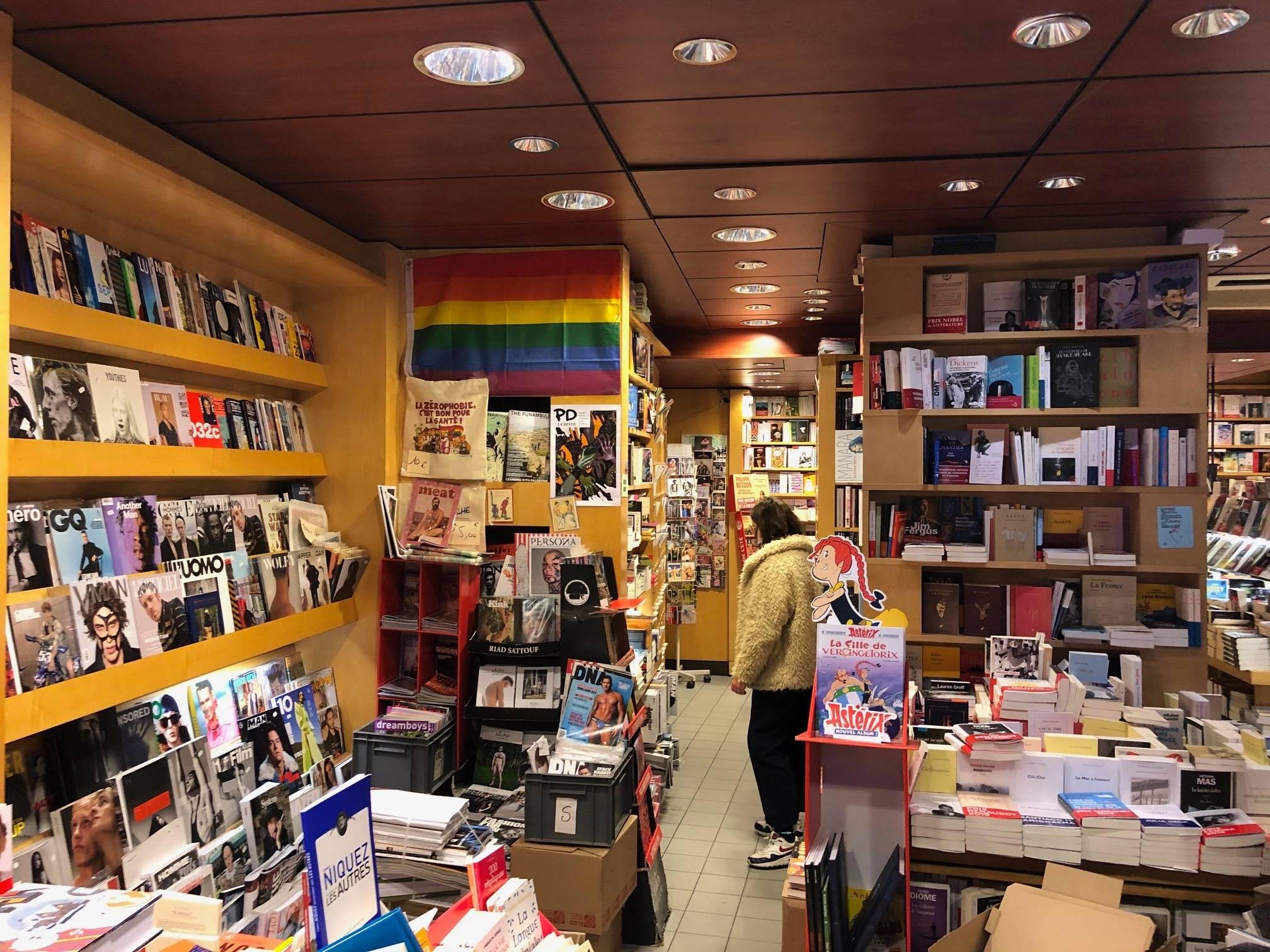 走进法国同性恋书店,我大开眼界