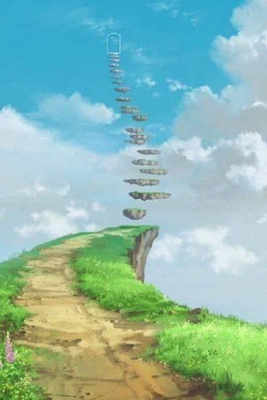 心理测试:四个天梯,选一个你敢攀登的,测测你的心够不够狠?
