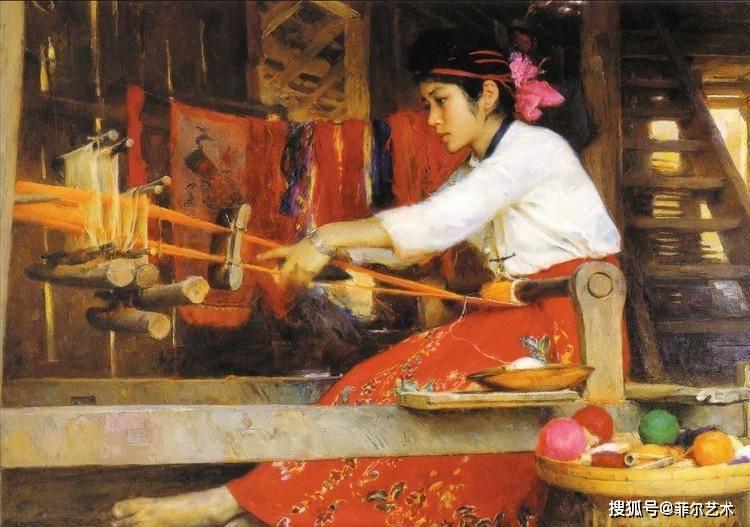 格调清新、用笔准确——旅美艺术家张文新油画人物作品欣赏