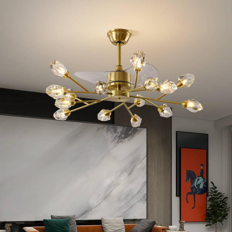 全铜北欧风扇灯 079987