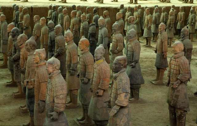 专家说秦始皇兵马俑灵感来自古希腊,尽扯淡了