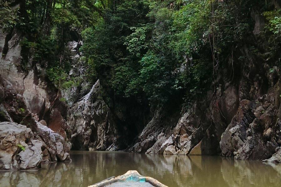 El Boqueron峡谷