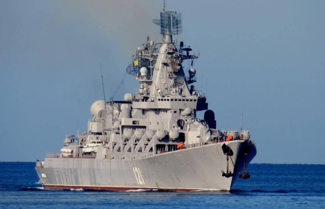 再戰三十年!莫斯科號巡洋艦重出江湖,P1000火山巖導彈讓敵膽寒