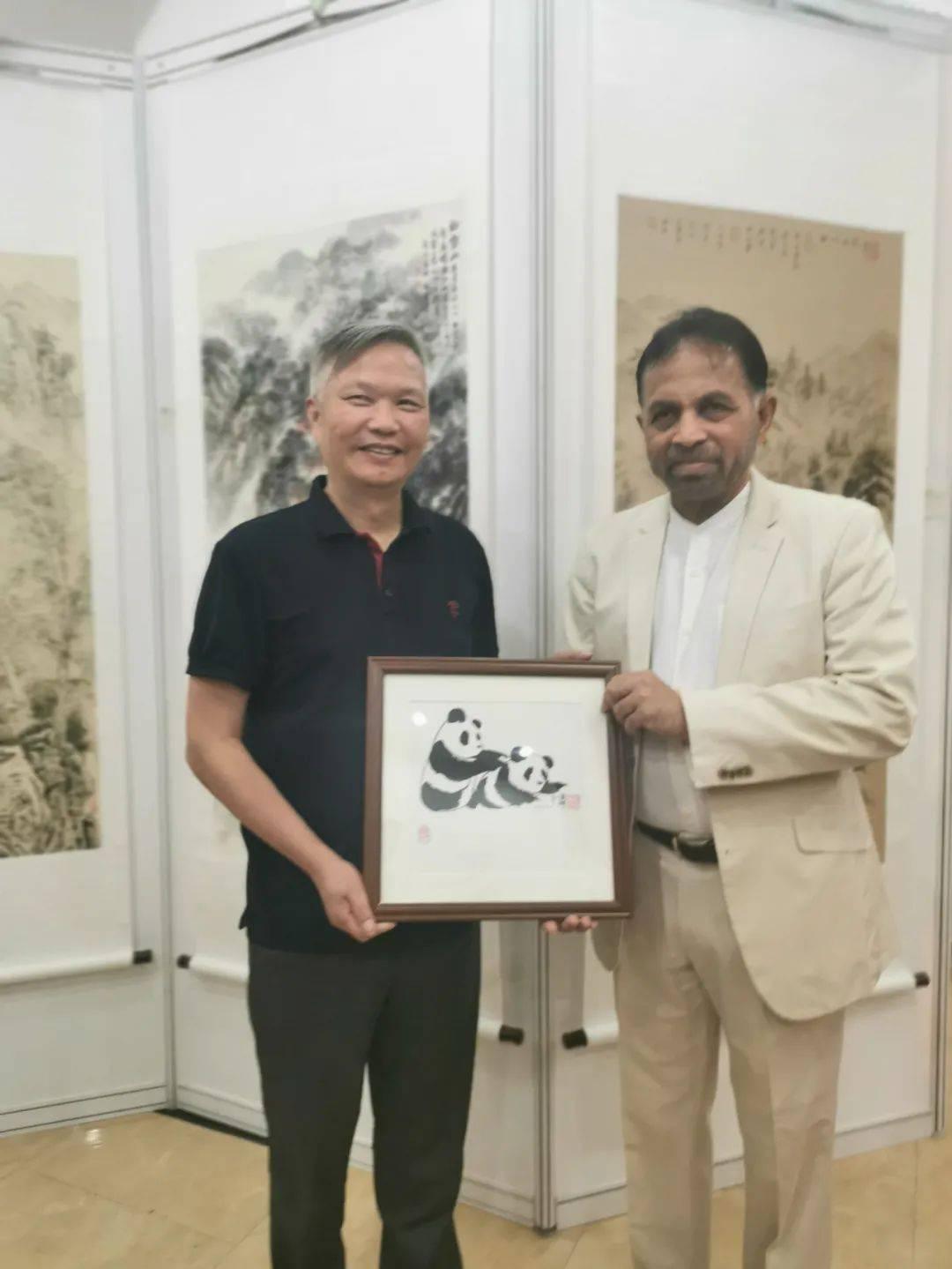 中斯友好文化交流书画展--特邀艺术家蒋才坤