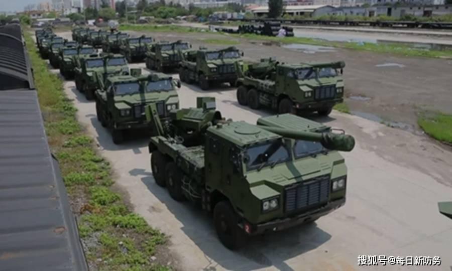 """首次部署,解放军""""战争之神""""武装东南沿海,对岸M1A2可扛得住?"""