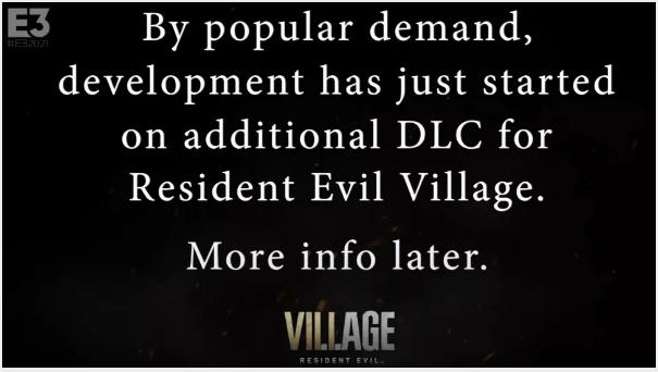 《生化危机8:村庄》首个DLC(多人射击版7月发售)