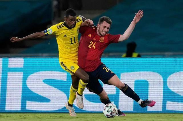 西班牙挖到宝了!曼城铁卫全场传球119次 比瑞典全队还要多_KU游官网