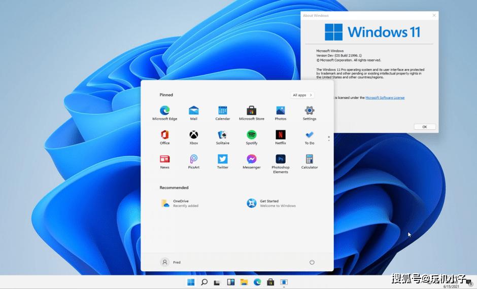 苹果味Windows 11来了,微软学苹果学得挺快啊!