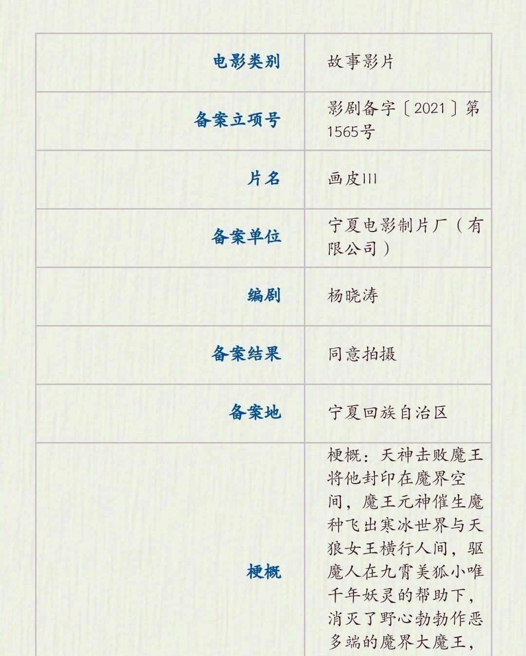 时隔9年,《画皮3》终于定了,赵薇、周迅、陈坤铁三角能否回归?