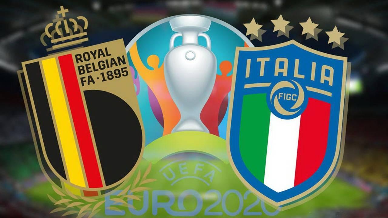 欧洲杯1/4决赛比利时VS意大利前瞻:夺冠热门对决,不会有加时