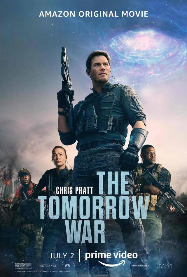 亚马逊花13亿的科幻片!还找来漫威星爵主演,明日之战太燃了_未来