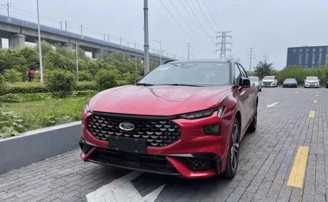 色彩丰富时尚大气,福特EVOS实车测试图曝光w43