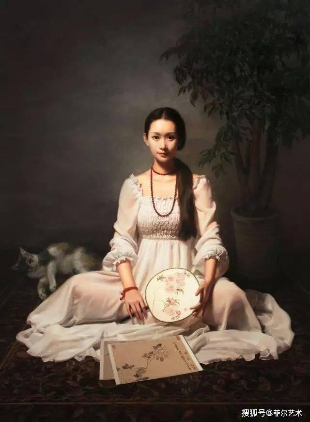 诗一般的写实油画!重现了古典油画中的美