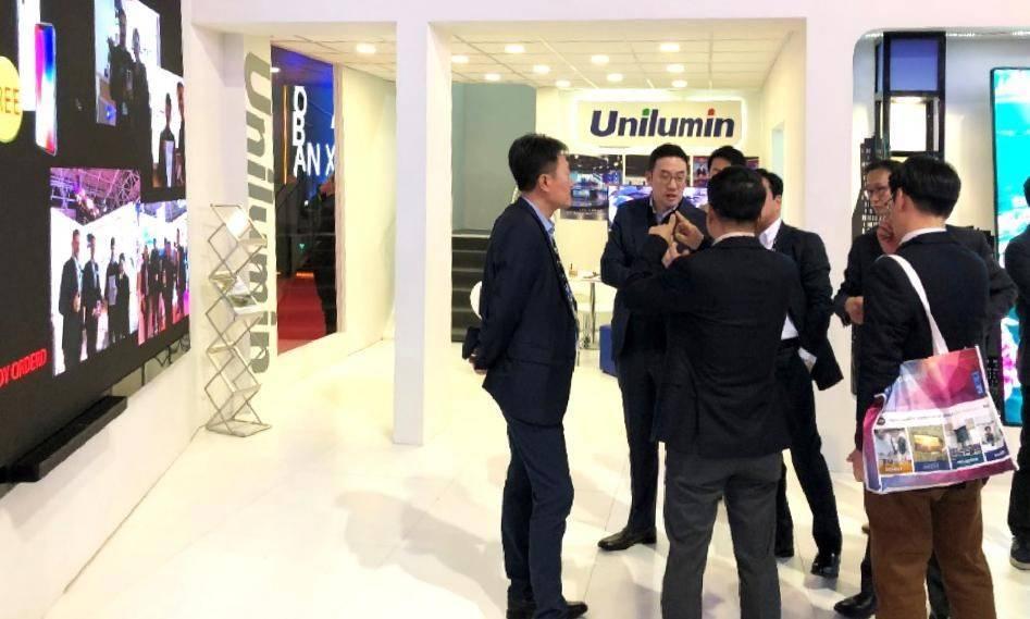 2018年荷兰ISE展洲明LED会议一体机首发