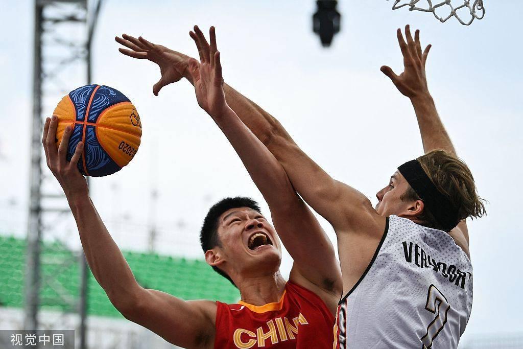 三对三篮球-胡金秋罚球绝杀 男篮险胜比利时迎首胜