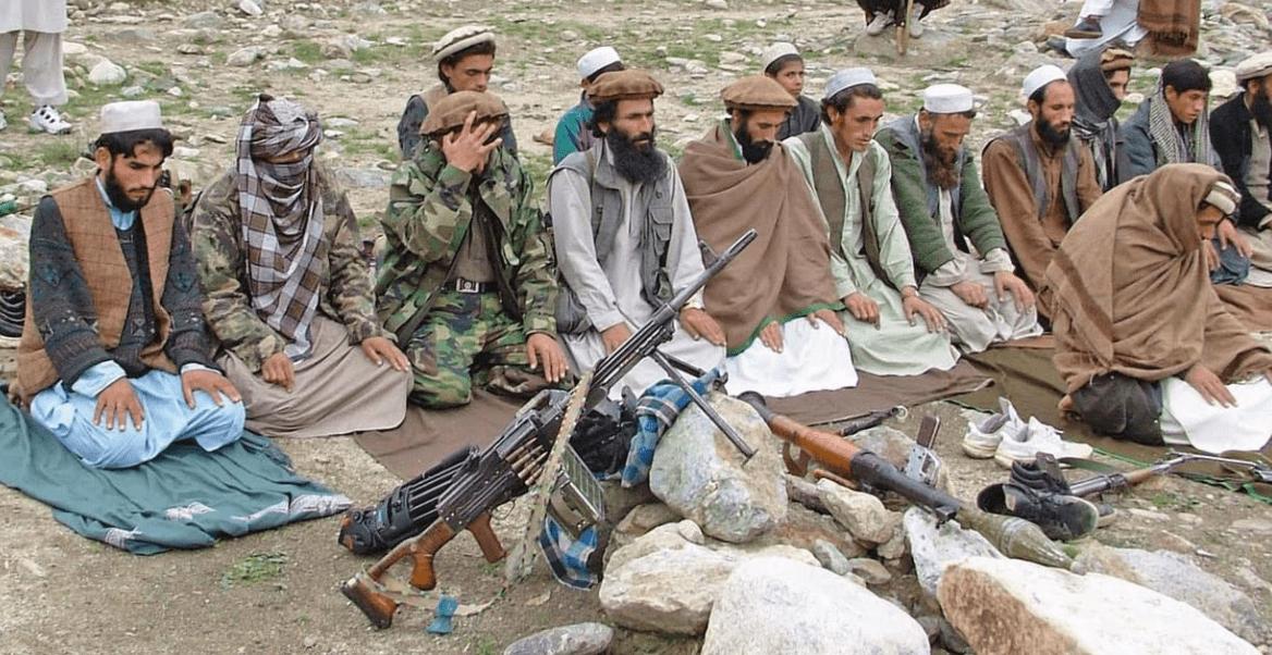 悍不畏死!缺乏重武器,塔利班靠人海战术打城市,被机枪成片扫倒pdn
