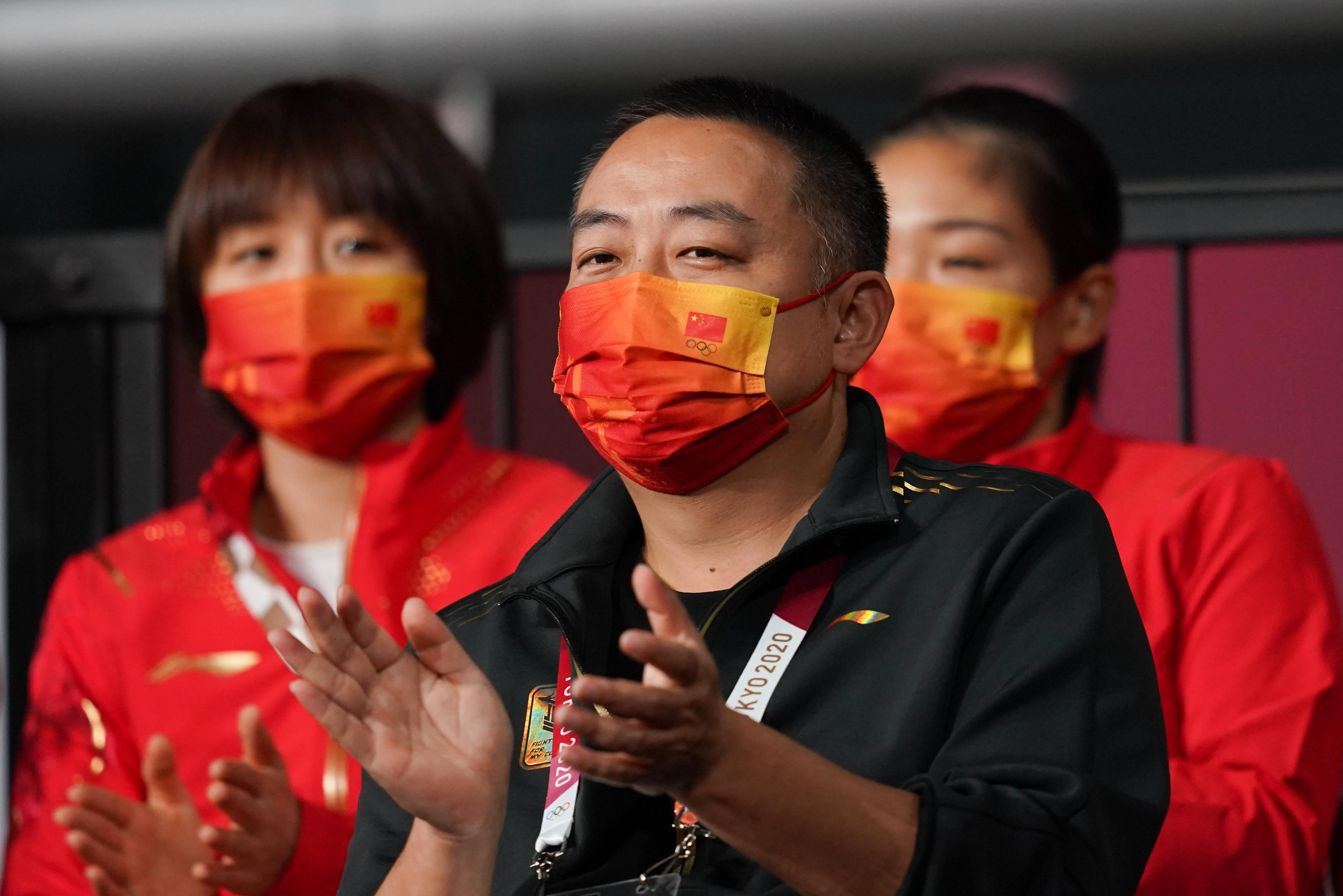 刘国梁:混双金牌是对东道主最好的回报 伊藤非常优秀