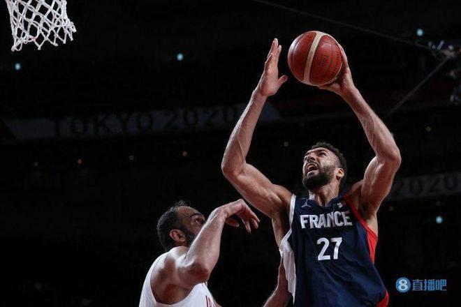 法国男篮轻取伊朗晋级8强 哈达迪空砍18+12