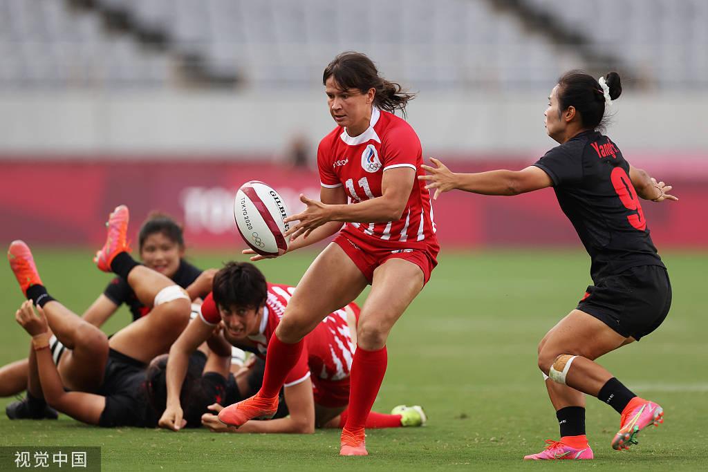 取胜收官!中国女橄22-10擒俄奥 首进奥运名列第7