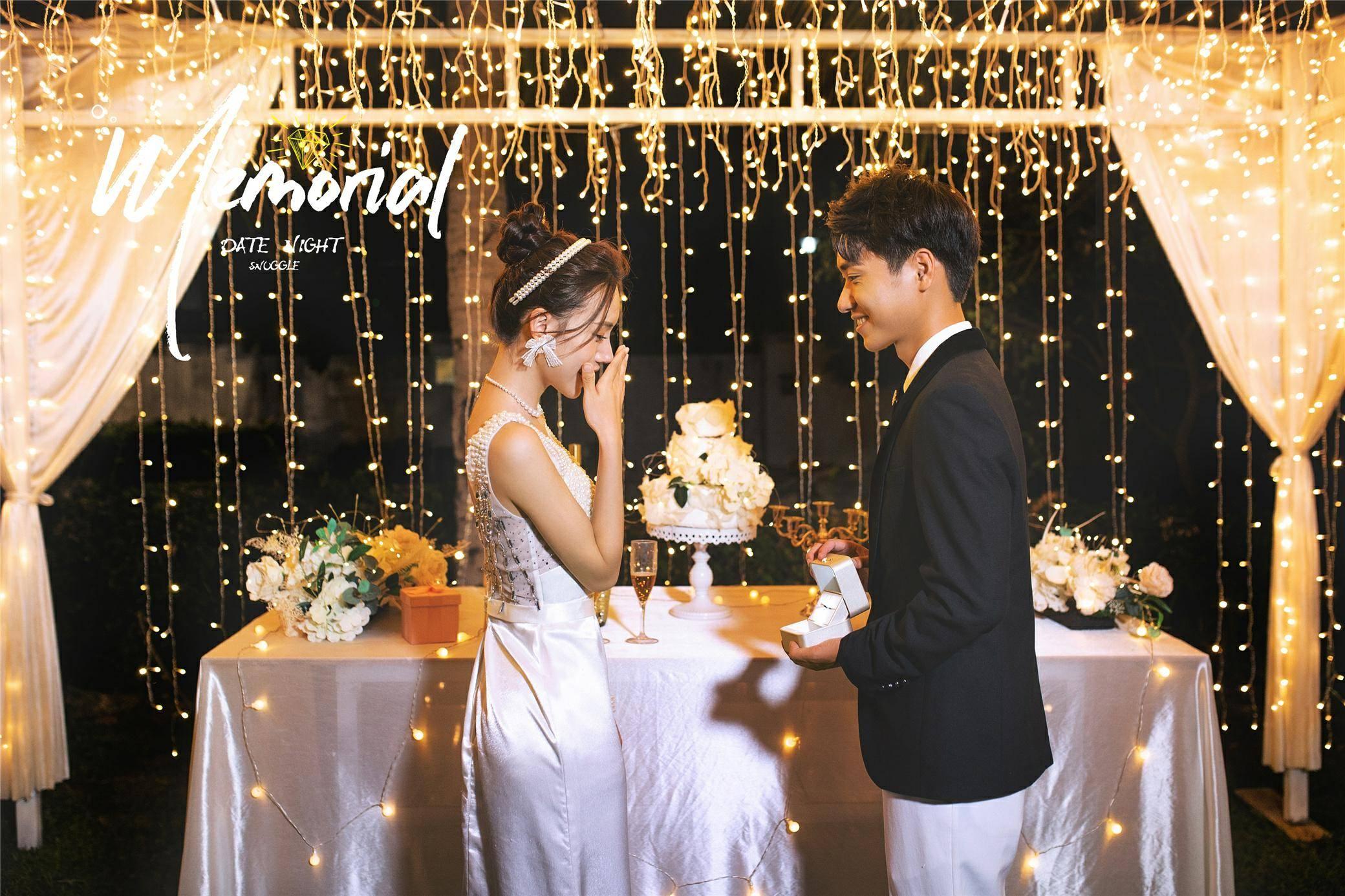 旅拍新玩法!婚纱照十大风格超火的夜景婚纱照的正确打开方式get